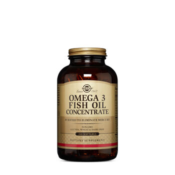 Solgar omega 3 fish oil concentrate gnc for Fish oil pills walmart