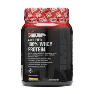 Amplified 100% Whey Protein - VanillaVanilla | GNC