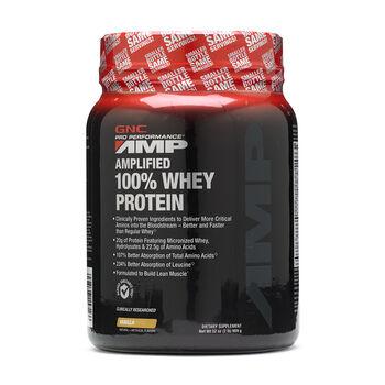 Amplified 100% Whey Protein - VanillaVanilla   GNC