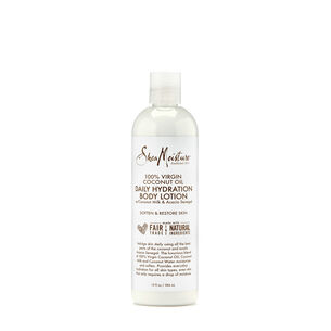 100% Virgin Coconut Oil Daily Hydration Body Lotion with Coconut Milk and Acacia Senegal | GNC