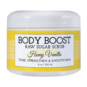 Body Boost Raw Sugar Scrub - Honey Vanilla | GNC