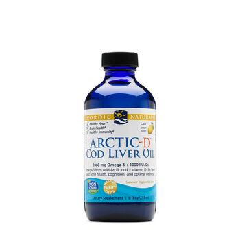 Arctic-D™ Cod Liver Oil - Lemon | GNC