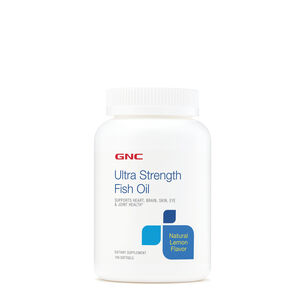 GNC Ultra Strength Fish Oil
