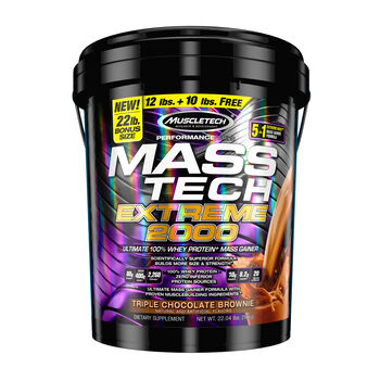 MASS-TECH® EXTREME 2000 - Triple Chocolate BrownieTriple Chocolate Brownie | GNC