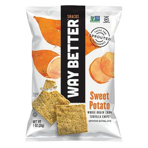 Whole Grain Corn Tortilla Chips - Sweet PotatoSweet Potato | GNC