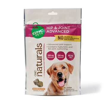 GNC Naturals - Hip & Joint Advanced - Chicken Flavor | GNC
