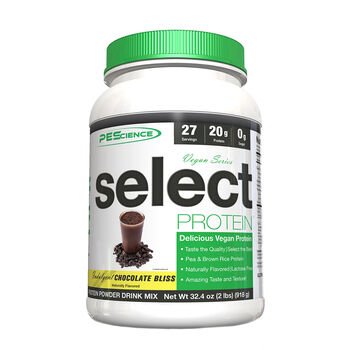 Vegan Series select PROTEIN - Indulgent Chocolate BlissIndulgent Chocolate Bliss | GNC