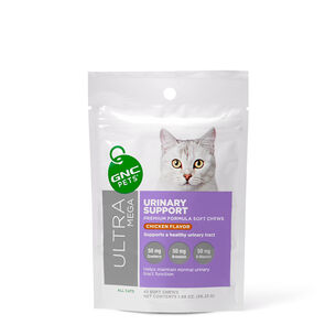 GNC Ultra Mega Urinary Tract Support - Yummy Chicken Flavor | GNC