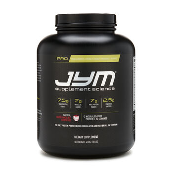 Pro Jym Protein - Natural White Chocolate RaspberryNatural White Chocolate Raspberry | GNC