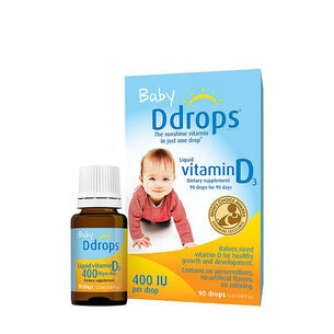 Liquid Vitamin D3 for Infants | GNC