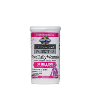 Probiotics probiotic pills drinks supplements more gnc for Garden of life once daily women s probiotic