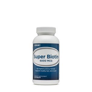 Super Biotin 6000 MCG | GNC