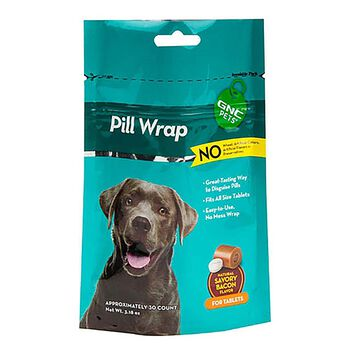 Pill Wrap - For Capsules - Natural Savory Bacon Flavor | GNC