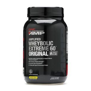 Amplified Wheybolic Extreme 60™ Original - Banana CreamBanana Cream | GNC