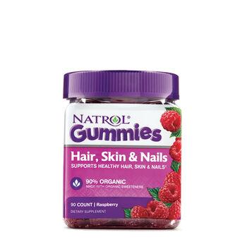 Hair, Skin and Nails Gummies- Raspberry | GNC