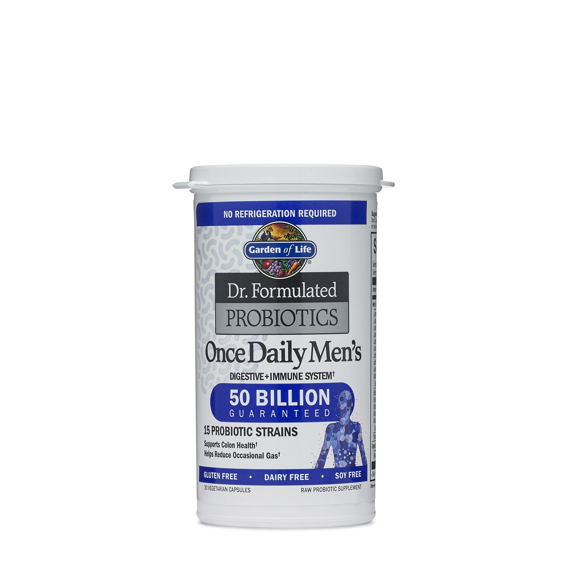 dr formulated probiotics once daily men s