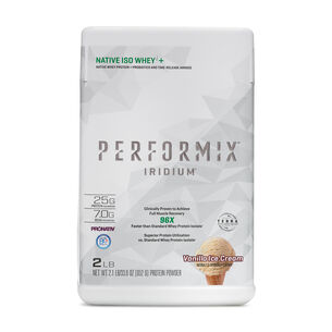 IRIDIUM™ NATIVE ISO WHEYi+ - Vanilla Ice CreamVanilla Ice Cream | GNC