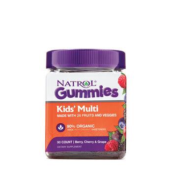 Kids' Multi Gummies - Berry, Cherry and Grape   GNC