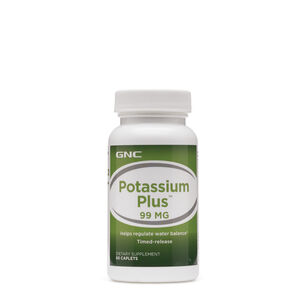 Potassium Plus™ 99 MG | GNC