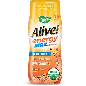 Alive!® energy max water enhancer - Orchard PeachOrchard Peach | GNC
