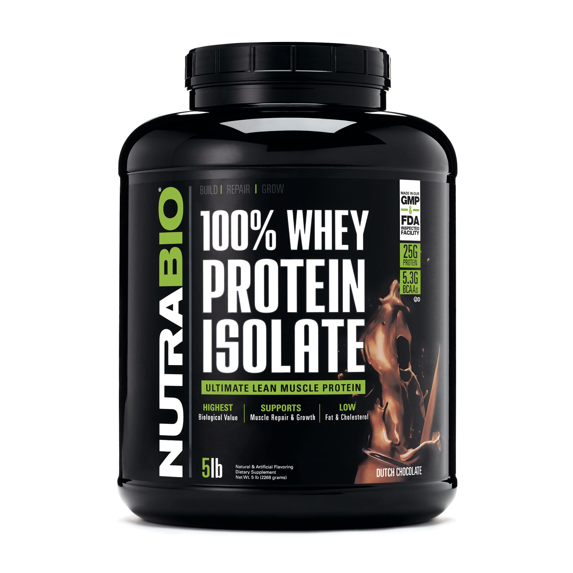 100% Whey Protein Isolate - Dutch Chocolate