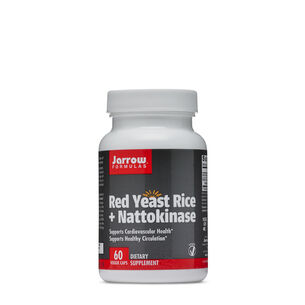 Red Yeast Rice + Nattokinase | GNC
