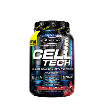 Cell Tech – Fruit PunchFruit Punch | GNC