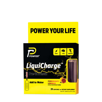 LiquiCharge™ Pre-Workout - Pomegranate LemonadePomegranate Lemonade | GNC