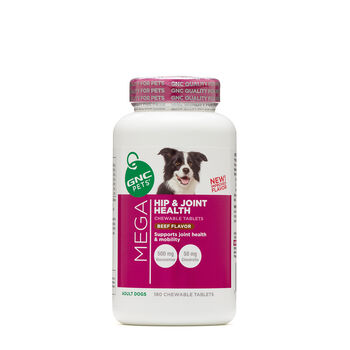 Mega Hip & Joint Health - Adult Dogs - Beef FlavorBeef | GNC