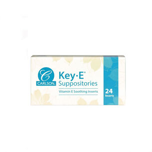 Key-E® Natural Vitamin E Suppositories | GNC