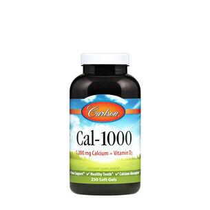 GNC Carlson Cal-1000 with Vitamin D