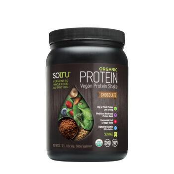 Organic Protein Vegan Protein Shake - ChocolateChocolate | GNC