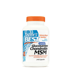 Glucosamine Chondroitin MSM with OptiMSM | GNC