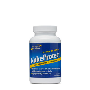Nukeprotect - 90 Capsules - North American Herb & Spice - Other Antioxidants