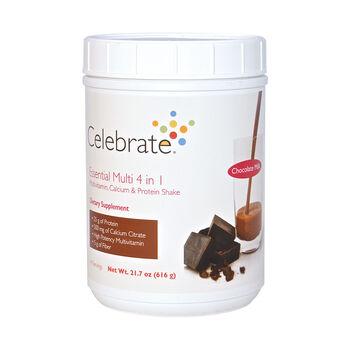 Essential Multi 4 in 1 Multivitamin, Calcium and Protein Shake - Chocolate MilkChocolate Milk | GNC