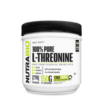 Amino Therapy™ 100% Pure L-Threonine | GNC