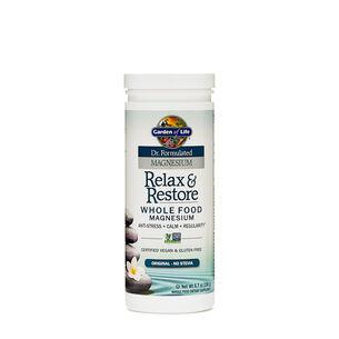 Relax & Restore Whole Food Magnesium - Original - No SteviaOriginal - No Stevia | GNC