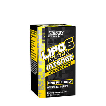 Lipo-6® Black Intense Ultra Concentrate | GNC
