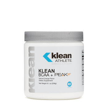 KLEAN BCAA + PEAK ATP® - Natural Orange Flavor | GNC