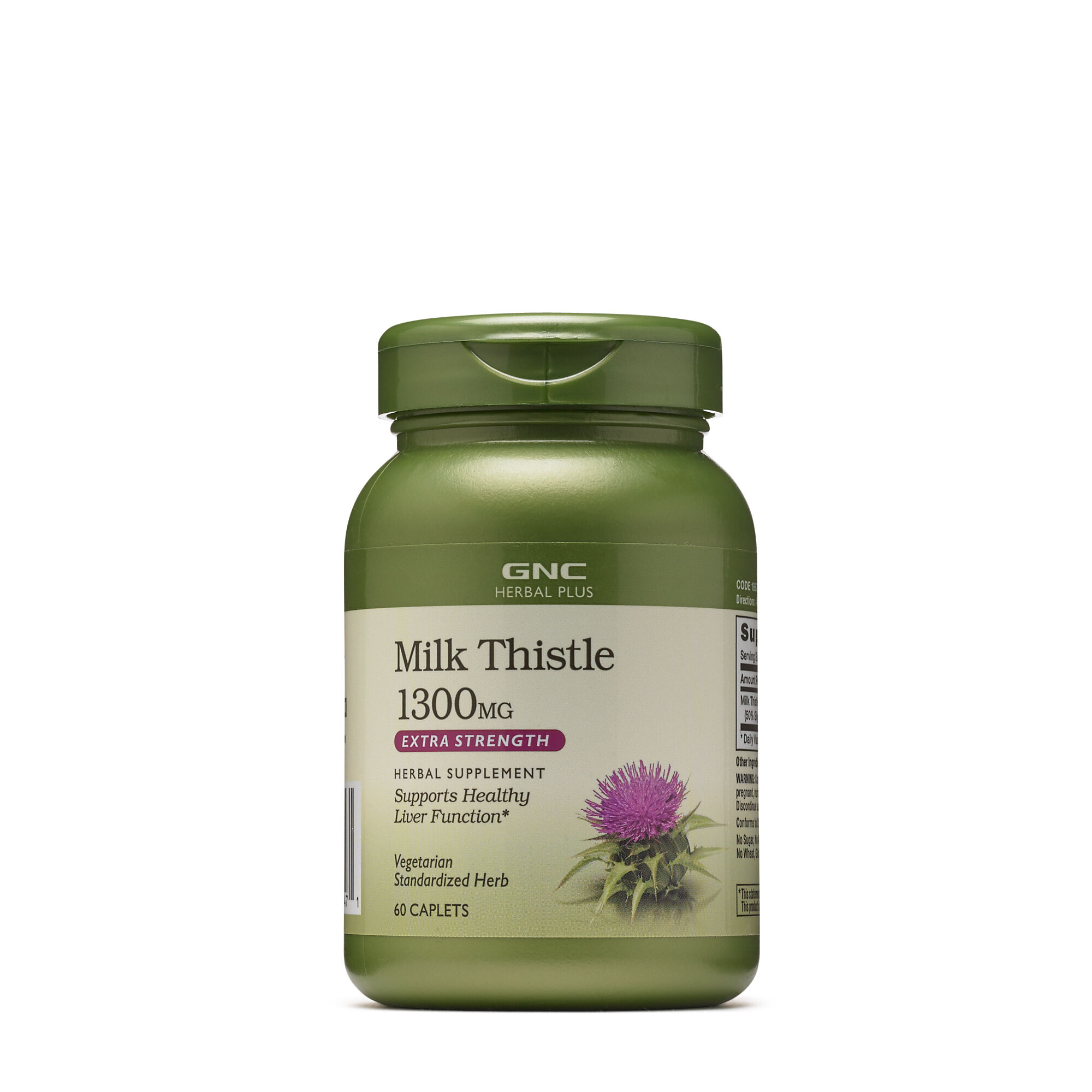 [BEST] GNC 밀크시슬 1300 (60정) GNC HERBAL PLUS® MILK THISTLE 1300 MG, 60 Caplets