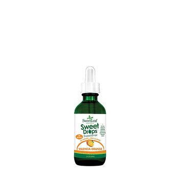 Sweet Drops Liquid Stevia Valencia Orange | GNC