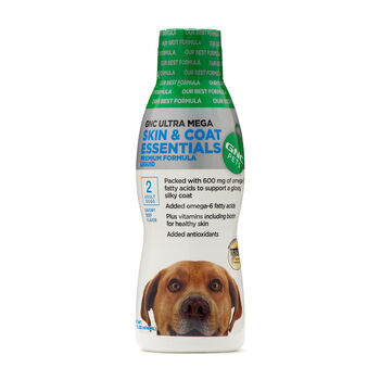 Ultra Mega Skin & Coat Essentials for Adult Dogs Liquid - Beef Flavor | GNC