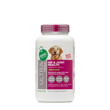 Ultra Mega Hip and Joint Health - Senior Dogs - Beef Flavor | GNC