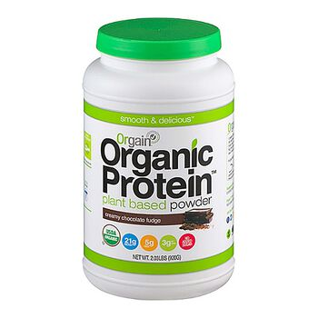 Organic Protein™ - Creamy Chocolate FudgeCreamy Chocolate Fudge | GNC