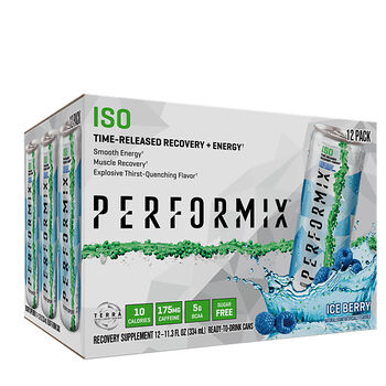 ISO Time-Released Recovery + Energy Ice BerryIce Berry | GNC