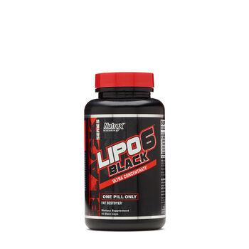 LIPO 6® Black Ultra Concentrate | GNC