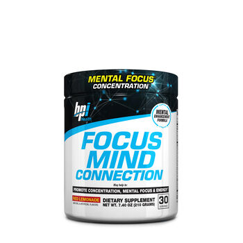 Focus Mind Connection- Red Lemonade | GNC