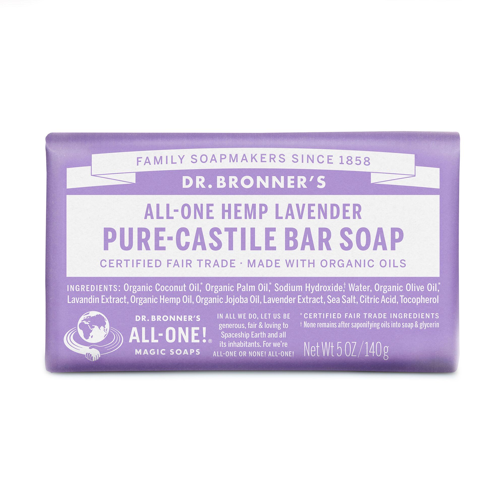 all one hemp lavender pure castile soap images