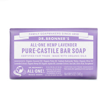 All-One Hemp Lavender Pure-Castile Soap | GNC