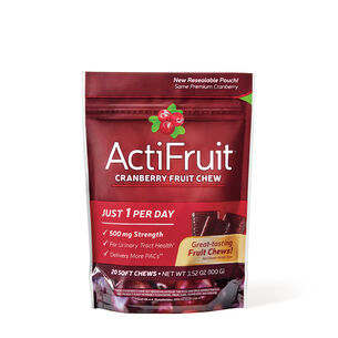 GNC Enzymatic Therapy™ ActiFruit™ Cranberry Chews